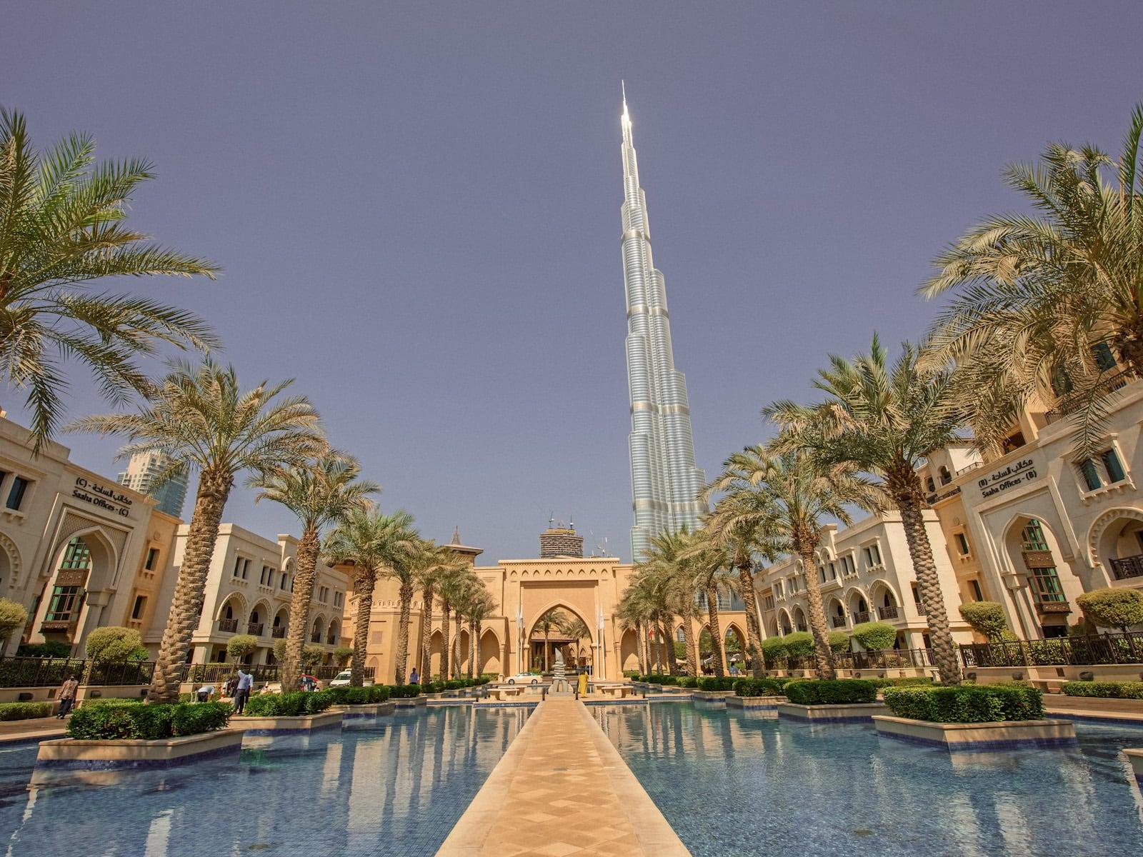 Burj Khalifa Palace Downtown Dubai 1