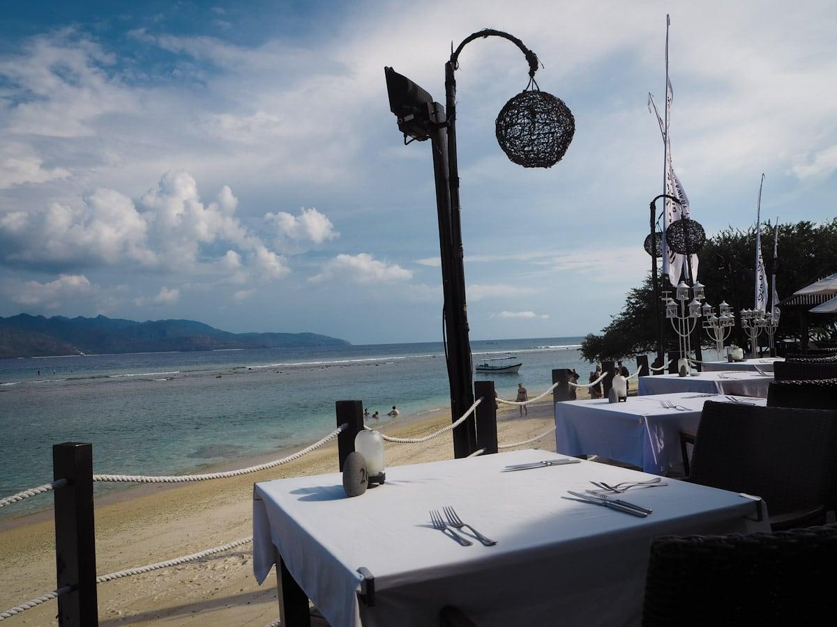 Restaurant at Ko Ko Mo, Gili Trawangan