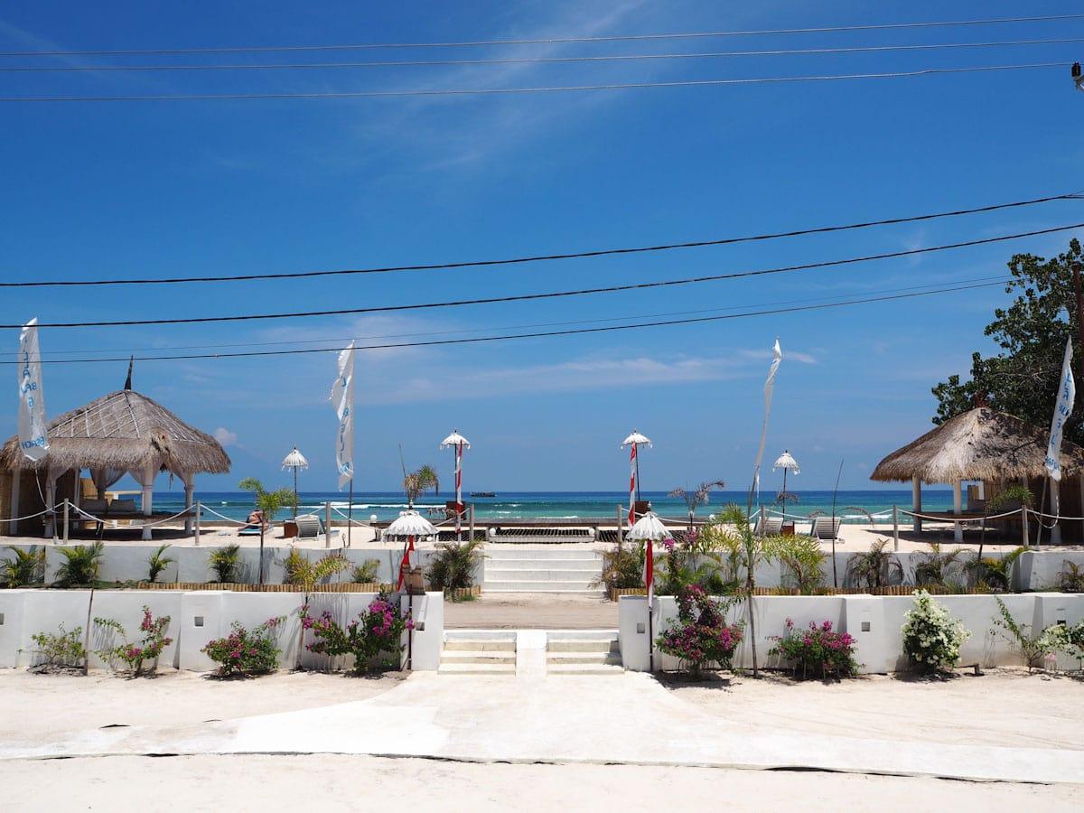 The View at Villa Gili Bali Beach - Gili Trawangan Bali - The Travel Escape