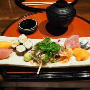 Sushi at the Japanese Restaurant